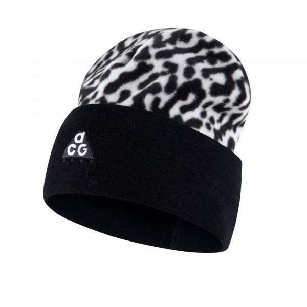 Nike ACG Fleece Beanie (White/Black)