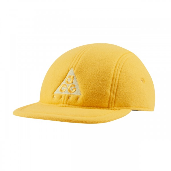 Nike ACG NRG AW84 Fleece Cap (University Gold/Luminous Green)