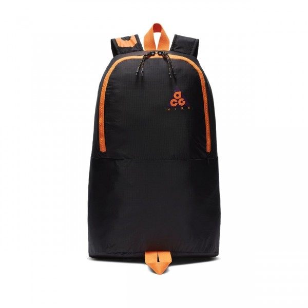 Nike ACG Packable Backpack (Night Purple/Black/Bright Mandarin)