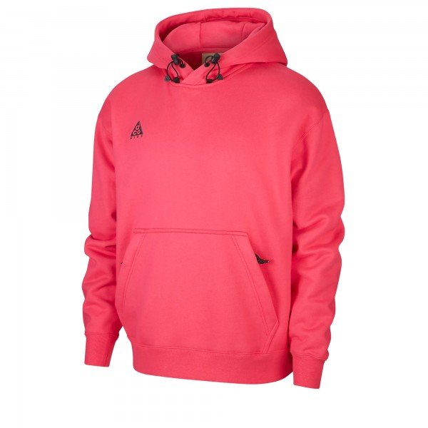 Nike ACG Pullover Hooded Sweatshirt (Rush Pink/Anthracite)