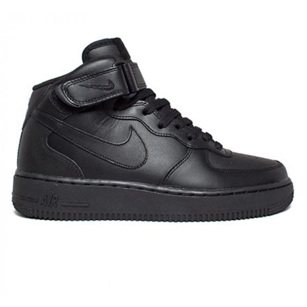 Nike Air Force 1 Mid '07 (Black/Black-Black)