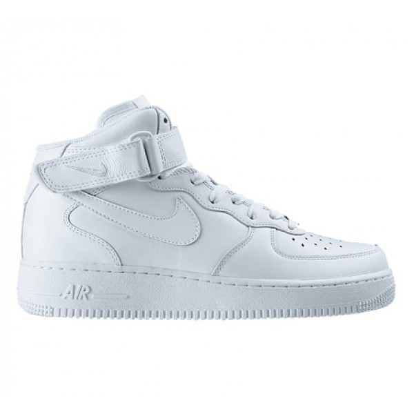 Nike Air Force 1 Mid '07 (White/White)