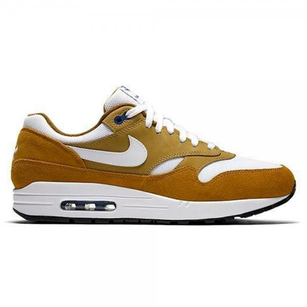 Nike Air Max 1 Premium Retro 'Curry' (Dark Curry/True White-Sport Blue-Black)