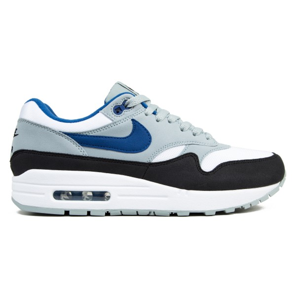Nike Air Max 1 (White/Gym Blue-Light Pumice-Black)