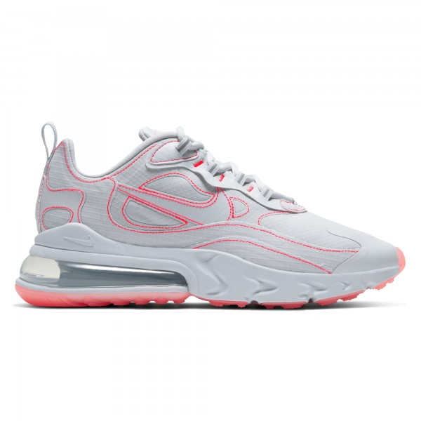 Nike Air Max 270 React SP (White/White-Flash Crimson)