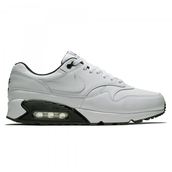 Nike Air Max 90/1 (White/White-Black-Black)