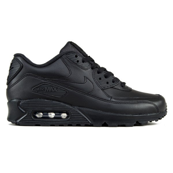 Nike Air Max 90 Leather (Black/Black)