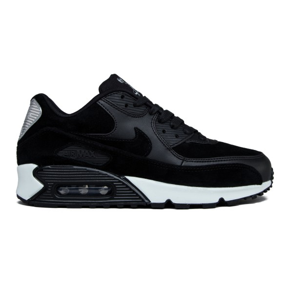 Nike Air Max 90 Premium 'Rebel Skulls' (Black/Black-Off White)