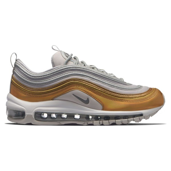 Nike Air Max 97 SE WMNS 'Metallic Gold Pack' (Vast Grey/Metallic Silver-Metallic Gold)