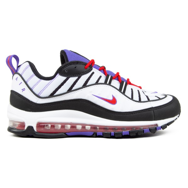 Nike Air Max 98 'Raptors' (White/Black-Psychic Purple)