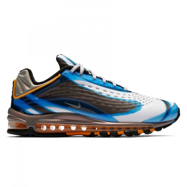 Nike Air Max Deluxe 'Photo Blue' (Photo Blue/Wolf Grey-Orange Peel-Black)