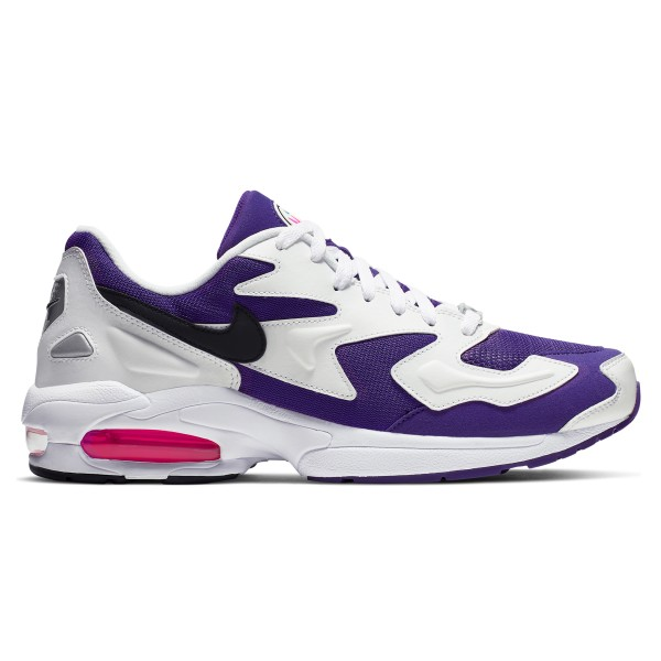 Nike Air Max2 Light (White/Black-Court Purple-Hyper Pink)