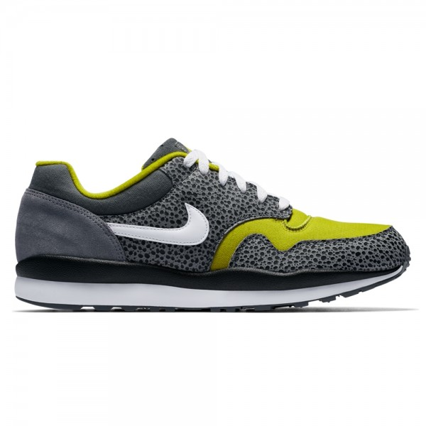 Nike Air Safari SE 'Flint Grey' (Flint Grey/White-Bright Cactus-Black)