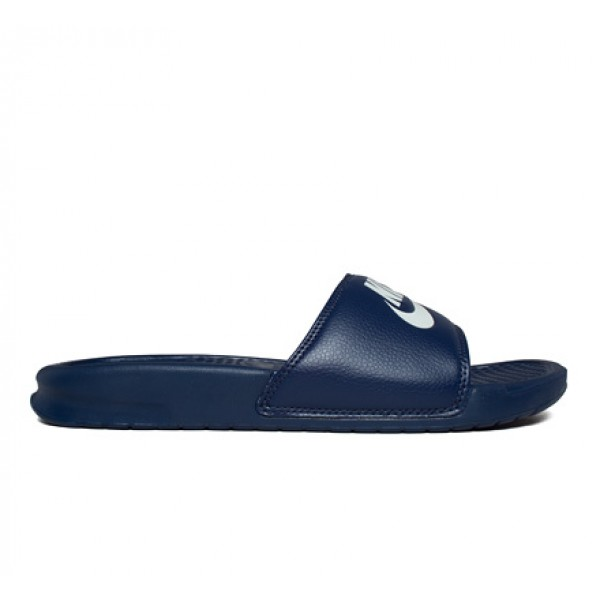 Nike Benassi JDI Slide (Midnight Navy/Windchill)