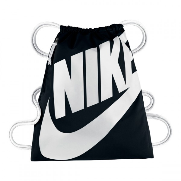 Nike Heritage Drawstring Backpack (Black)