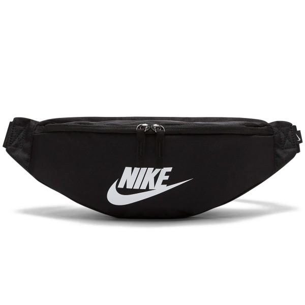 Nike Heritage Hip Pack (Black/Black/White)