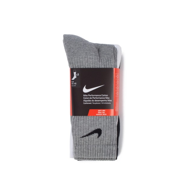 Nike Performance Cushion Crew Training Sock Triple Pack (Multi-Colour)