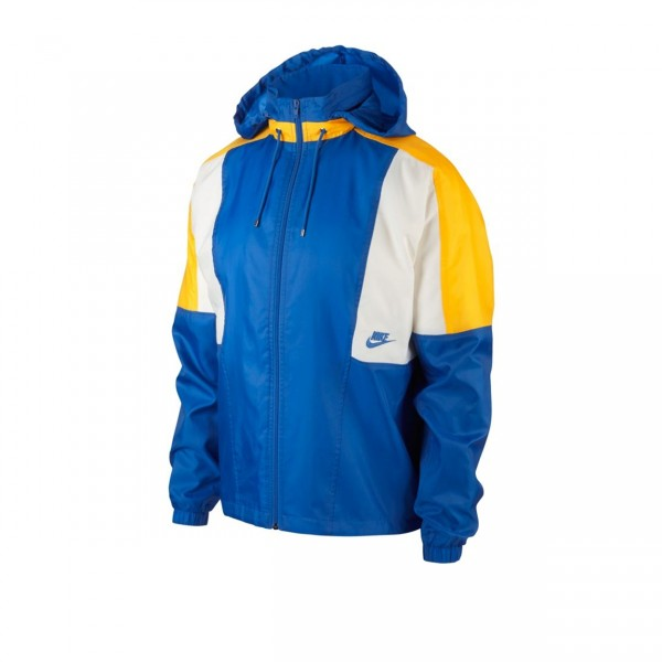 Nike Re-Issue Woven Jacket (Signal Blue/Amarillo/Sail/Sail)