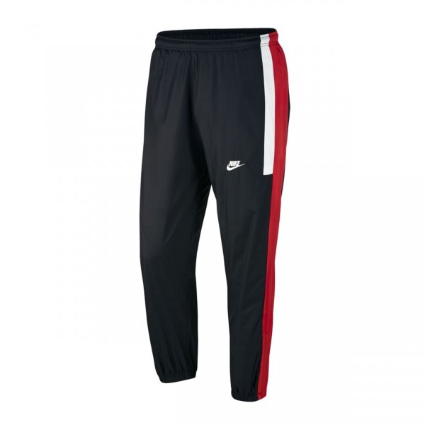 Nike Re-Issue Woven Pant (Black/University Red/Summit White)