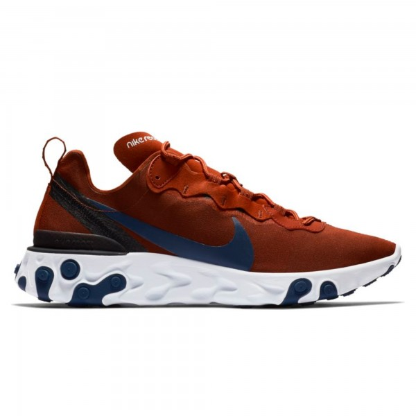 Nike React Element 55 'Mars Stone' (Mars Stone/Midnight Navy-Black-White)
