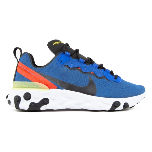 Nike React Element 55 (Game Royal/Black-White-Dynamic Yellow)