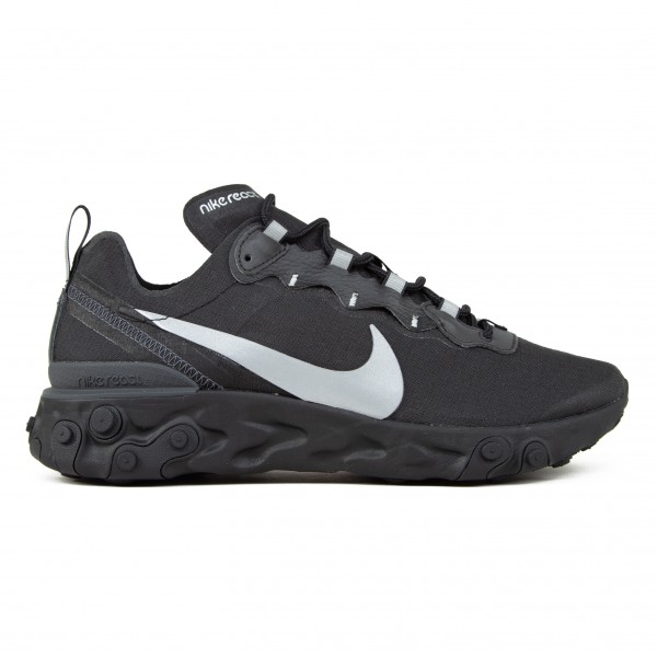 Nike React Element 55 SE 'Black Reflective' (Black/Anthracite)