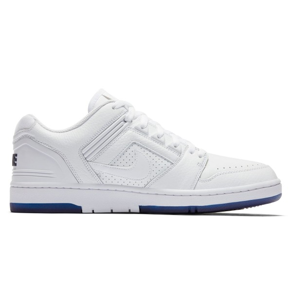 Nike SB Air Force II Low 'Kevin Bradley' QS (White/White-Blue Void)