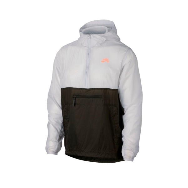 Nike SB Anorak Jacket (Vast Grey/Sequoia/Orange Pulse)