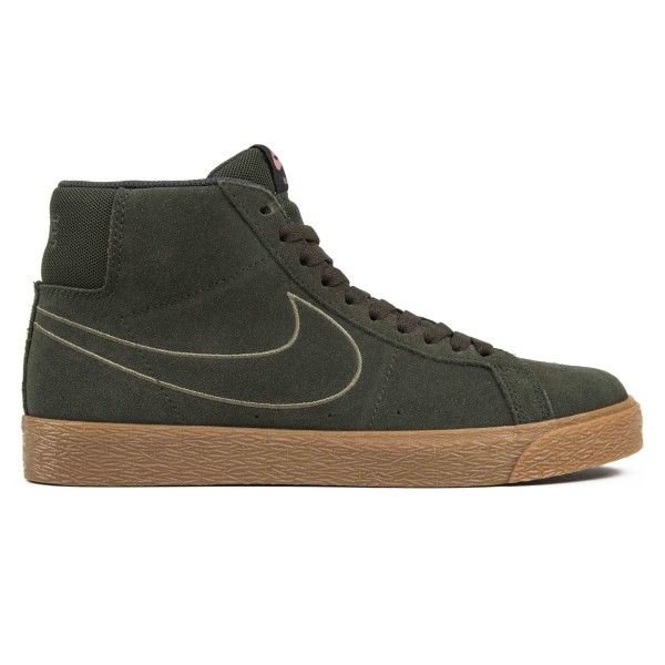 Nike SB Blazer Zoom Mid (Sequoia/Sequoia-Medium Olive-Black)