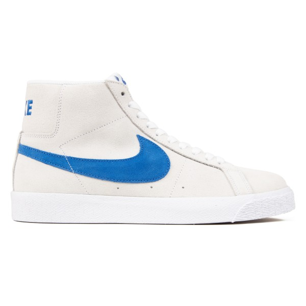 Nike SB Blazer Zoom Mid (White/Team Royal-White-Cerulean)