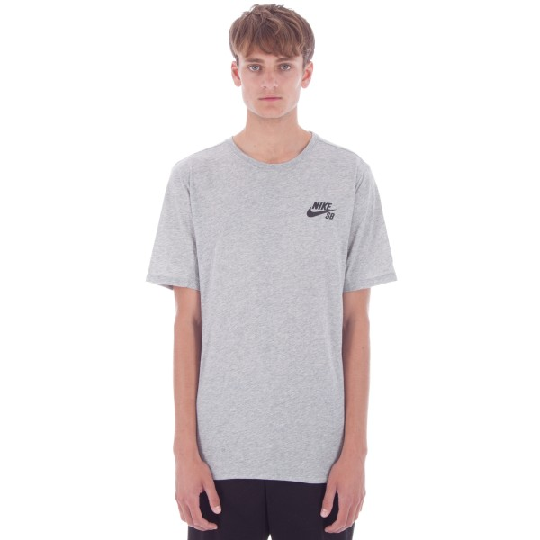 Nike SB Dry T-Shirt (Dark Grey Heather/Black)