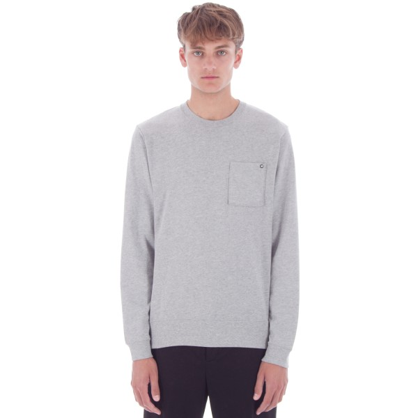 Nike SB Pocket Long Sleeve Shirt (Dark Grey Heather)