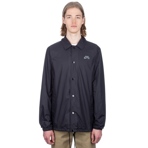 Nike SB Shield Coach Jacket (Black/Cool Grey)