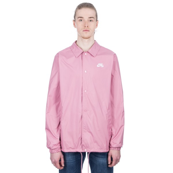 Nike SB Shield Coach Jacket (Elemental Pink/White)