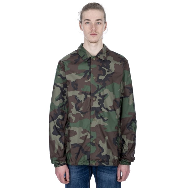 Nike SB Shield Coaches Jacket (Medium Olive/Black)