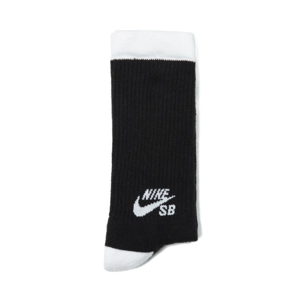 Nike SB Skateboarding Crew Socks Triple Pack (Black/White)