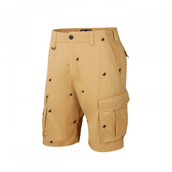 Nike SB x Kevin Bradley Cargo Short 'Kevin and Hell Pack' (Club Gold/Black)