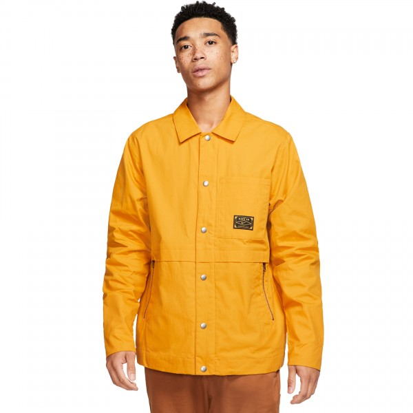"Nike SB x Leo Baker Jacket ""Orange Label Collection"" (Pollen Rise/Night Maroon)"