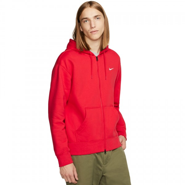 "Nike SB x Oski Full Zip Hooded Sweatshirt ""Orange Label Collection"" (University Red/Sail)"