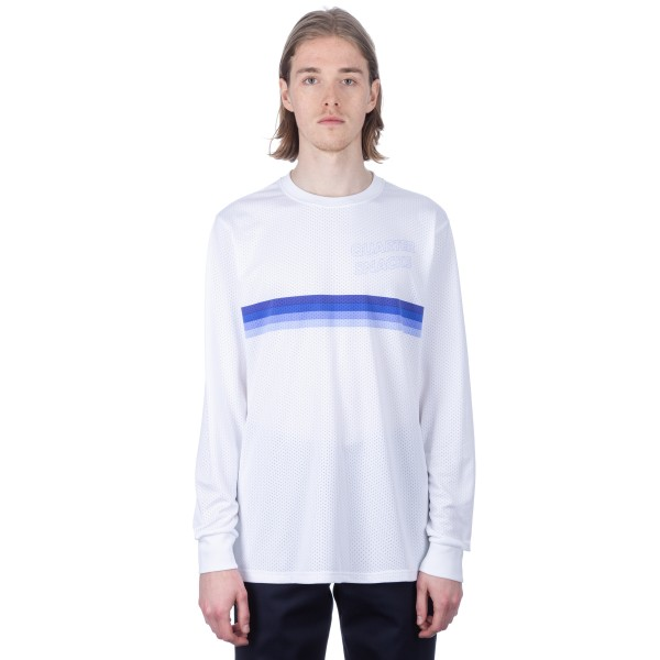 Nike SB x Quartersnacks Dry Long Sleeve T-Shirt (White/Royal Pulse)