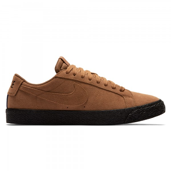 Nike SB Zoom Blazer Low (Light British Tan/Light British Tan-Black)