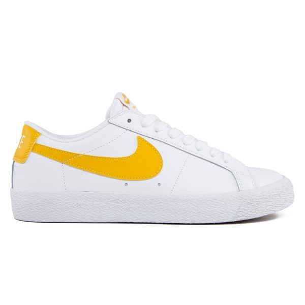 Nike SB Zoom Blazer Low (White/Mineral Gold)