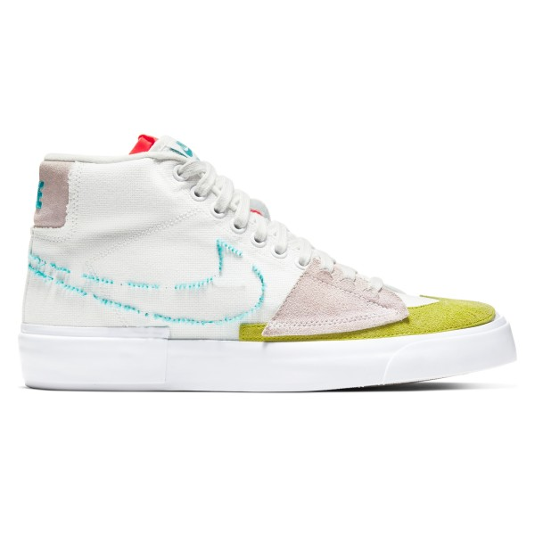 Nike SB Zoom Blazer Mid Edge 'Hack Pack' (Summit White/Oracle Aqua-Summit White)
