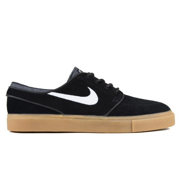 Nike SB Zoom Stefan Janoski (Black/White-Gum Light Brown)