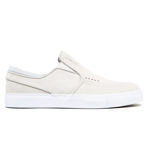 Nike SB Zoom Stefan Janoski Slip-On (White/Light Bone/White)
