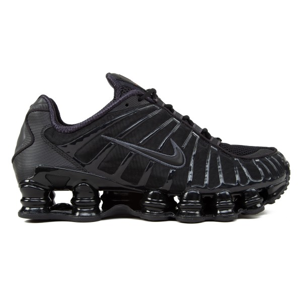 Nike Shox TL 'Metallic Hematite' (Black/Black-Metallic Hematite-Max Orange)
