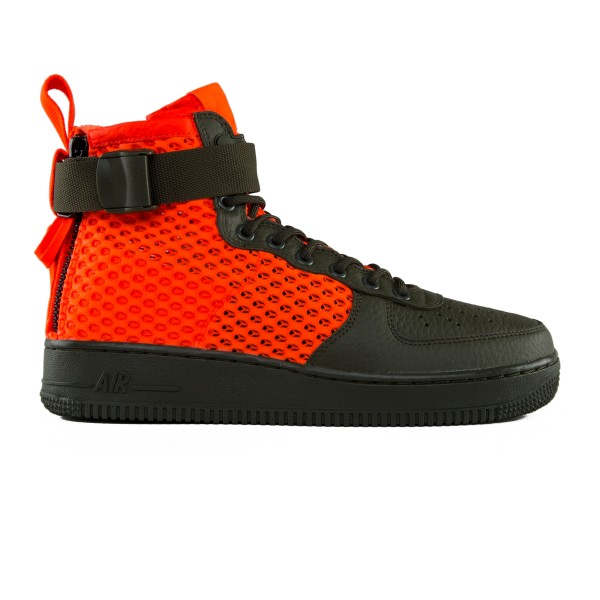 Nike Special Field Air Force 1 Mid 'Urban Utility' (Cargo Khaki/Total Crimson)