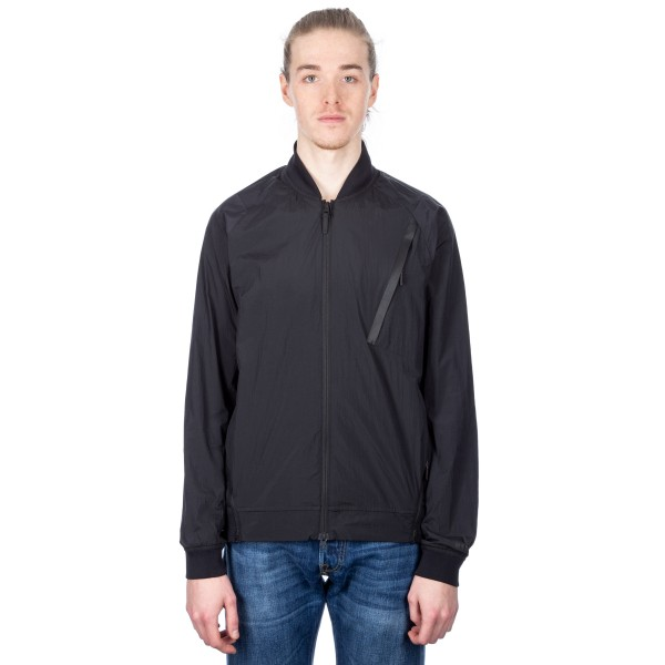 Nike Tech Hypermesh Varsity Jacket (Black/Black)