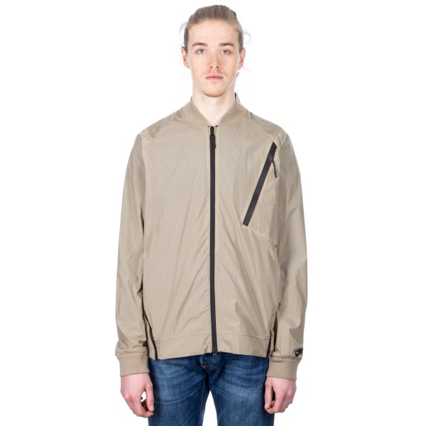 Nike Tech Hypermesh Varsity Jacket (Khaki/Black)