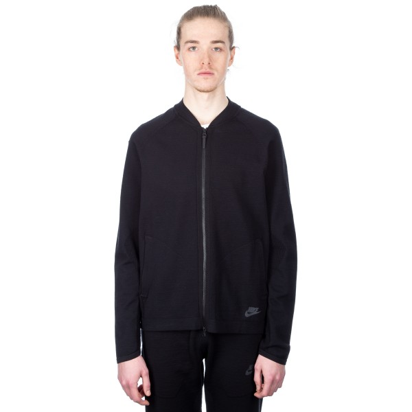 Nike Tech Knit Bomber Jacket (Black)